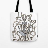 Anchor My Soul Tote Bag