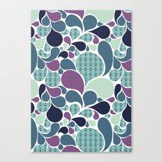Sea pattern Canvas Print