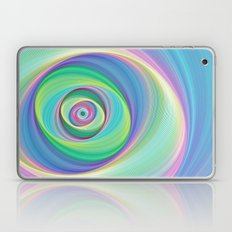 Asymmetric circles around the circle Laptop & iPad Skin