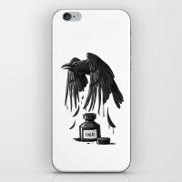Ink Raven iPhone & iPod Skin