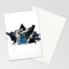 Star Whale Stationery Cards