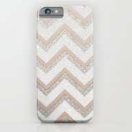 iPhone & iPod Case featuring NUDE CHEVRON by Monika Strigel