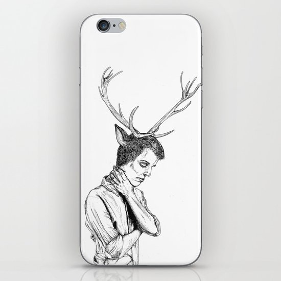 Stag Boy iPhone & iPod Skin