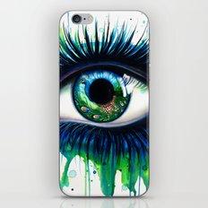 -The peacock- iPhone & iPod Skin