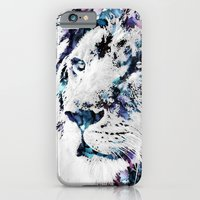 iPhone & iPod Case featuring King of the Jungle by NKlein Design