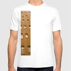 Windows Mens Fitted Tee SMALL White