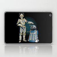 Cyber3PO And R2Dalek Laptop & iPad Skin