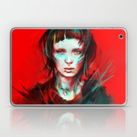 Laptop & iPad Skin featuring Wasp by Alice X. Zhang