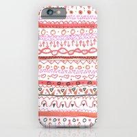 Red Design iPhone 6 Slim Case