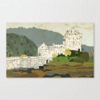 Eilean Donan Castle, Sco… Canvas Print