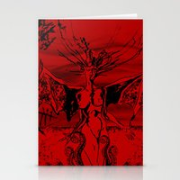 A Vampire Stationery Cards