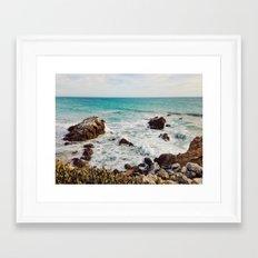 Leo Carrillo State Beach, Malibu Framed Art Print