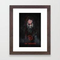 THE REVENANT Framed Art Print