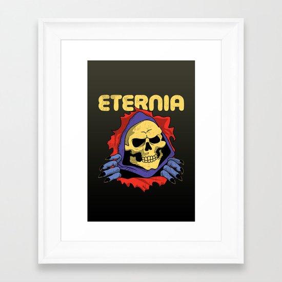 eternia. Framed Art Print