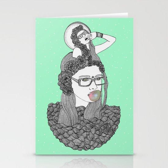 I love Candy  Stationery Card