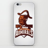 Mon Calamari Admirals iPhone & iPod Skin