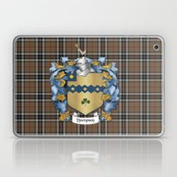 Thompson Crest And Tarta… Laptop & iPad Skin