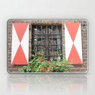 Vintage Window In Zons Laptop & iPad Skin