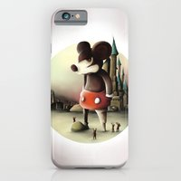 iPhone & iPod Case featuring Mickey's Kingdom by Jacques Marcotte
