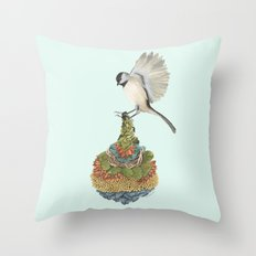 Quilted Bundles: The Bird I Throw Pillow