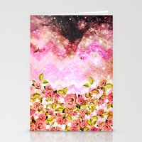 Space Roses - For Iphone Stationery Cards