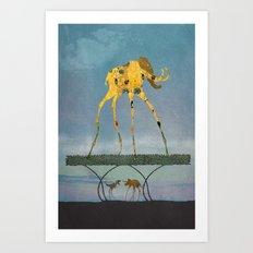 Dalimt Prehistoric Fanta… Art Print
