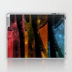 Colorful Space Needle Laptop & iPad Skin