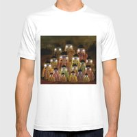 Buck Fever Mens Fitted Tee White SMALL