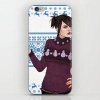 Very Merry Morrigan iPhone & iPod Skin