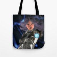 Sci -Fi Flame Tote Bag