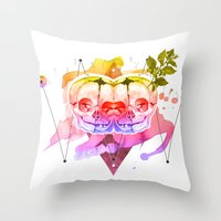 dead twins Throw Pillow