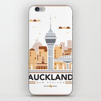 City Illustrations (Auck… iPhone & iPod Skin