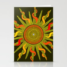 Let The Sunshine In - Dots Painting Stationery Cards