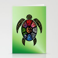 Bagua Turtle Stationery Cards