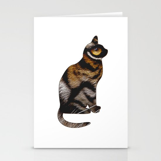 THE TIGER WITHIN Stationery Card
