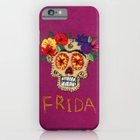 iPhone & iPod Case featuring Frida by Or Roizin