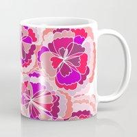 Floral Fuchsia Mug