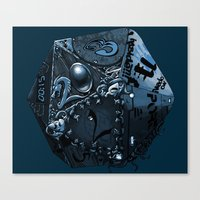 The Polyhedral Of Many U… Canvas Print