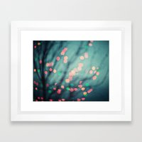 Twinkle in Color Framed Art Print