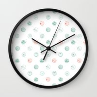 Insects Flight Wall Clock