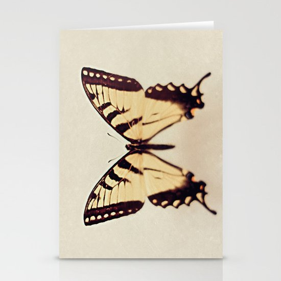 Butterfly  Stationery Card