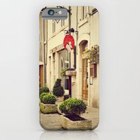 iPhone & iPod Case featuring Le P'tit Paradis, Beaune France Storefront by Around the Island (Robin Epstein)