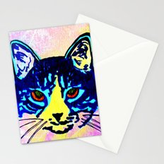 Pop Art Cat No. 2 Stationery Cards