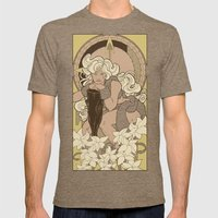 Chronos III Nouveau Mens Fitted Tee Tri-Coffee SMALL
