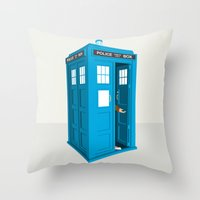 Doctor Who: Long Live the Tenth Doctor Throw Pillow