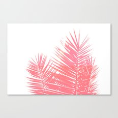 Plant Life in Pink Canvas Print