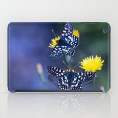 The Checkerspot Couple iPad Case