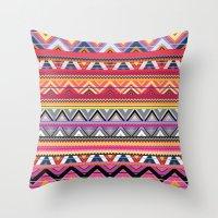 Aztec #6 Throw Pillow