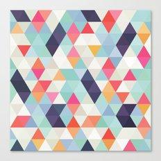 geometric cover Canvas Print
