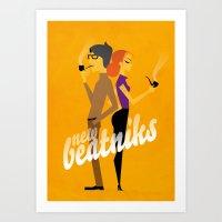 New Beatniks Art Print